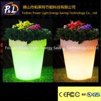 Quality Coffee Ship LED Flower Pot With Lithium Battery , RGB LED light for sale
