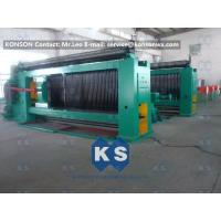 Quality Auto High Speed Stone Gabion Mesh Machine With Wire Tension Device for sale