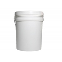 China 20L Yellow and White Color Plastic Bucket Tank Without Honey Gate on sale