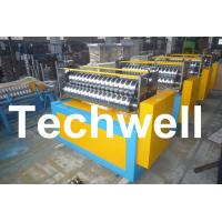 Quality 11KW Motor Power / PLC Control Three Roller Bending Machine To Curve Corrugated Sheets for sale