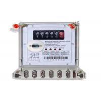 Quality Register Display Digital Energy Meter Two Phase Three Wires Electronic KWH Meter for sale