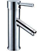 China Ceramic Single Lever Basin Mixer Faucet / Brass Basin Faucet Hotel Taps HN-3A24 on sale