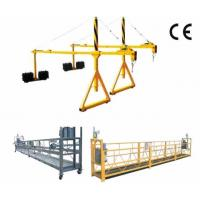 China 800 Rated Load Rope Steel Suspended Window Cleaning Platform with Dipping Zinc on sale