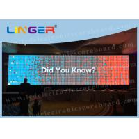 Quality P10 Full Color Led Large Screen Display , Led Panel Display Indoor Type for sale