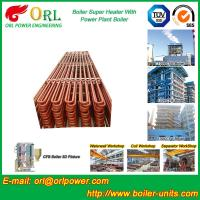 Quality Convection Platen CFB Boiler Superheater In Thermal Power Plant for sale