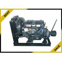 Quality 4 . 33 L Stationary Diesel Engine With Clutch ,  48 KW  Industrial Diesel Engines 2000 Rpm for sale