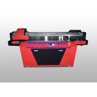 Quality Industrial UV Glass / Wood Printing Machine With Double Print Head for sale