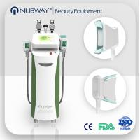 Quality salon use cryolipolysis slimming machine for cellulite removal / skin tightening for sale