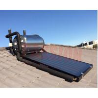 China 150L 300L Flat Plate Pressurized Solar Water Heater , Solar Hot Water System Geysers on sale