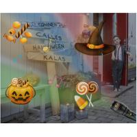 Quality 2000mAh Halloween Light Projector , 12 Pattern Music Playing Holiday House Projector for sale