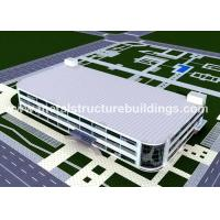 Pre Built Steel Frame Storage Buildings Construction Environmental Friendly for sale