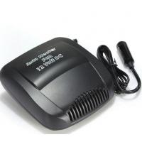 Quality Electric Small Portable Car Heaters 150w Black Color Plastic Material With Switch for sale