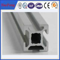 Quality Hot! anodized and powder coated t-slot aluminum supplier, t-slot aluminum profile factory for sale