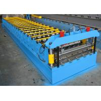 Quality Roofing Sheet Roll Forming Machine Double Layer Steel IBR And Corrugated for sale