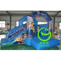 Quality 2016 hot sell   minion inflatable bounce house with 24months warranty for sale