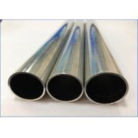 Quality High Frequency Welded Brazing Aluminum Pipe For Automotive Heat Exchanger Heater for sale
