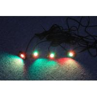 Buy IP68 DC9-32V Jeep Off Road  RGB 2 inch LED Rock Lights at wholesale prices