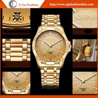 Quality 050A Stainless Steel Watch Black White Gold Watch Golden Watch Luxury Watch Gift Watches for sale