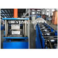 Buy Water Gutter Feeding Trough Channel Roll Forming Machine Aluminum at wholesale prices