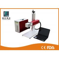Quality Rotate Aluminum Laser Engraving Machine , High Precision Small Laser Marker for sale