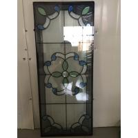 "Quality patina caming decorative door glass 1"" thickness for sale"