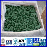China Container lashing Chain, Red painted lashing chain container securing lashing chain on sale