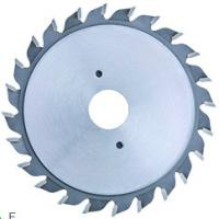 Quality Adjustable Scoring T.C.T Saw Blade , Metal Saw Blades To Score The Coating On Laminated Tooth Model F for sale