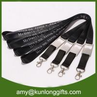 Quality New customized bottle opener lanyard with subliatiom printing for sale