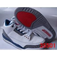 Buy cheap Tradingspring.cn  Authentic Air Jordan 3 Retro White-True Blue SZ from wholesalers