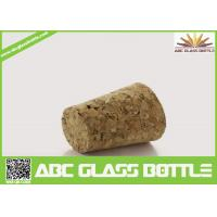 Buy Wholesale wooden synthetic round small glass bottle wooden cork manufacturers, cork stopper at wholesale prices
