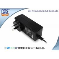 Quality Black 2 Prong 36W Switching Power Adaptor With 1.5m Cable , 84.78% Efficiency for sale