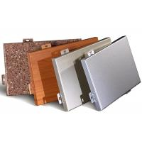 Quality Metal Aluminum Cladding Panel , Insulated Interior Exterior Wall Cladding Sheets for sale