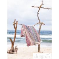Quality Premium Cotton 320gsm lightweight beach towels Quick Dry Easy Wash AZO Free for sale