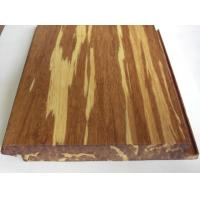 Quality Tigerwood Strand Woven Bamboo Flooring, Click lock for sale