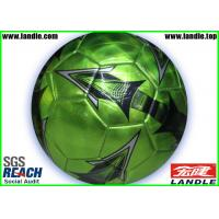Quality Custom Printed PVC Soccer Balls Machine stitched Footballs Size 4 for sale