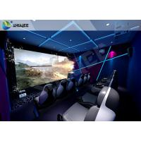 Quality Gaming Room Luxury 5D movie theater seats With Dynamic Effects for sale