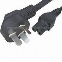 China Power Cord with IEC C-15 Computer Connector, CCC-certified for sale