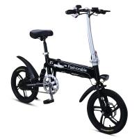 China 16 Inches Folding Electric Bike 250W 36V Lithium Battery Disc Brake For Adult on sale