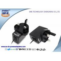 Quality UK Plug 12V 0.5A Wall Mount Power Adapter for Recorders , 1.5m Typical Cable for sale