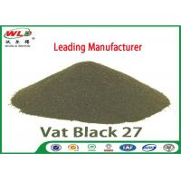 Quality C I Vat Black 27 Olive R Black Cotton Dye Textile Dyeing Chemicals for sale