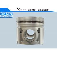 Quality 4JG1 Isuzu Piston 8972206040 For Excavator Bright Surface Alfin Frist Ring Groove for sale