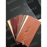 Buy Wood grain transfer Aluminium Window Profiles for decoration material at wholesale prices