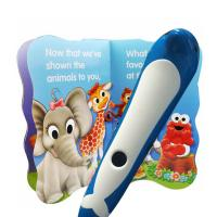 Buy Dolphin Kids Learning Pen Support MP3 / Game / TF Card Blue Green at wholesale prices