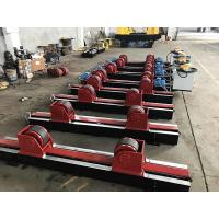 Buy cheap Lead Screw Adjustment Tank Turning Rolls , Digital Speed Display Pipe Welding from wholesalers