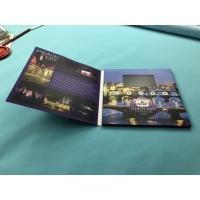 Quality TFT Digital Video Brochure Printed Video Greeting Folder Cards 2.4/2.8/4.3 Inch 256mb for sale