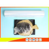Quality Fresh Stretch Pvc Cling Film Food Wrapping , Transparent Soft Catering Plastic Wrap for sale