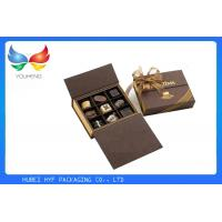 Quality Embossing Elegant Luxury Packaging Boxes , Cardboard Magnetic Closure Gift Box for sale