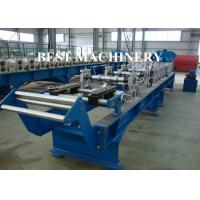 Buy Roof Tile Crest Ridge Cap Roll Forming Machine CE / SGS Certificated at wholesale prices