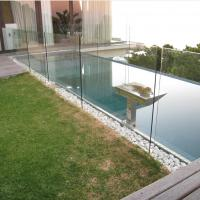 Buy cheap glass pool fence, u channel glass railing, frameless glass railing from wholesalers