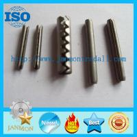 China Coiled Slotted Spring Pin,Tooth type spring pin,Spring steel roll pin,Stainless steel roll pin,Stainless steel split pin on sale